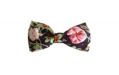 noeud papillon enfant anvers motif fleur vintage imprimé
