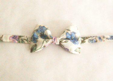noeud papillon enfant fleur vintage liberty