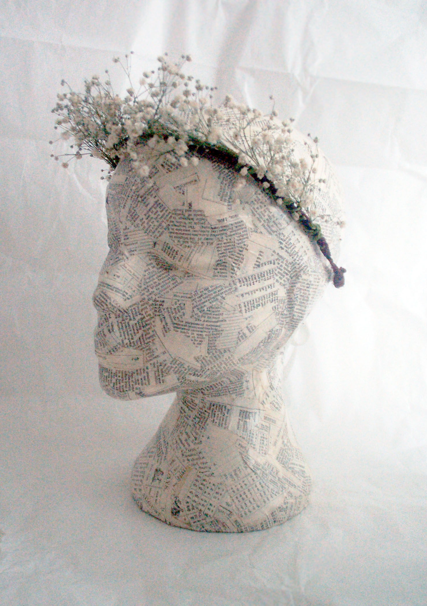 Babys Breath Flower Crown Jt Accessories Hair Accessory For